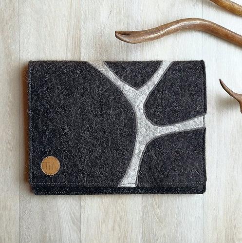 Tablet sleeve - stony grey
