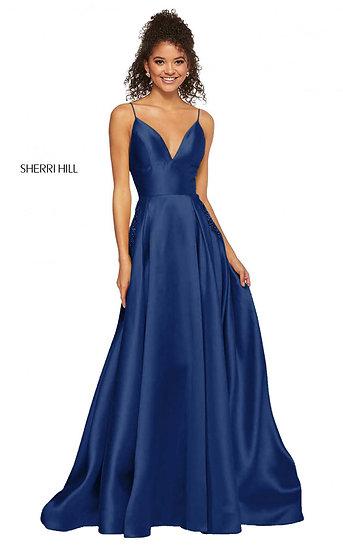 Sherri Hill 52597 Navy