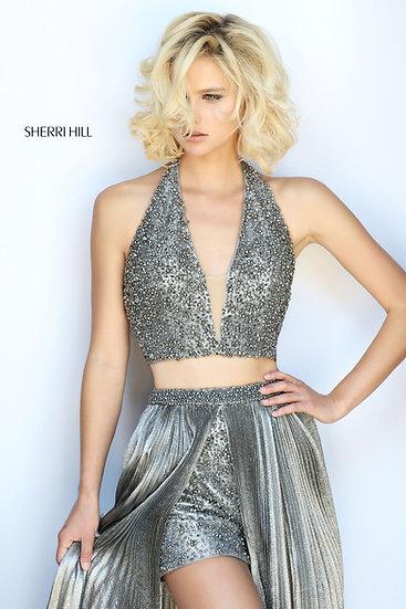 Sherri Hill 51236 Silver