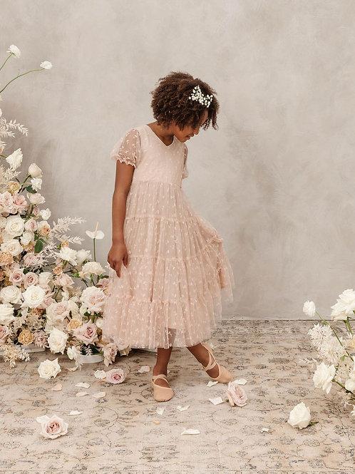 Noralee Dottie Dress Buttercup Daisy