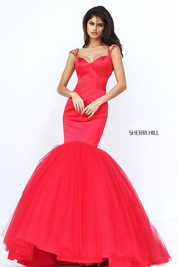 Sherri Hill 50822 Red