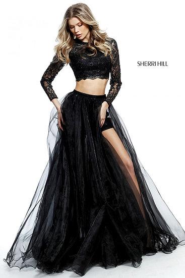 Sherri Hill 51378 Black