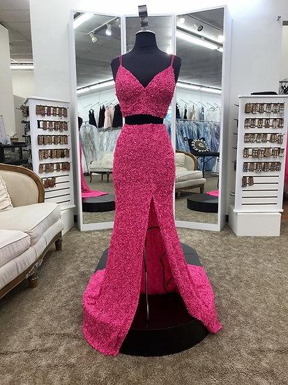 Sherri Hill 53448 Neon Pink
