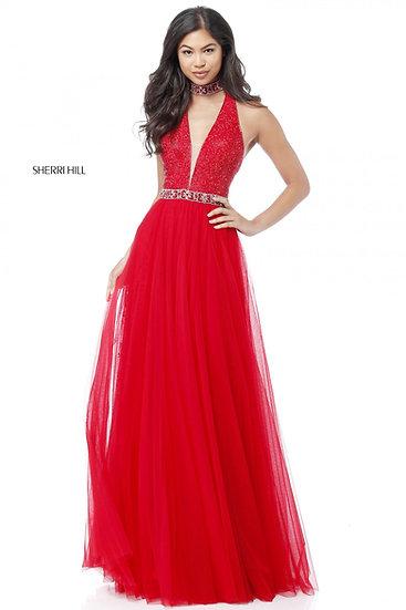 Sherri Hill 51637 Red
