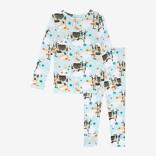 Posh Peanut Tex Long Sleeve Basic Pajama