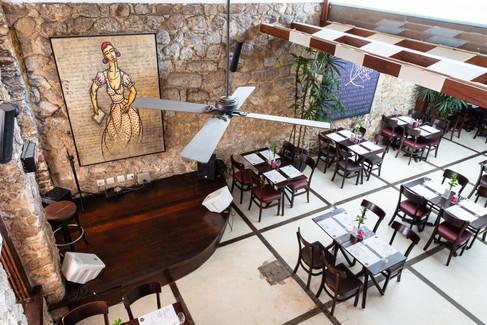 Fotografia de interiores para o restaurante Benditas