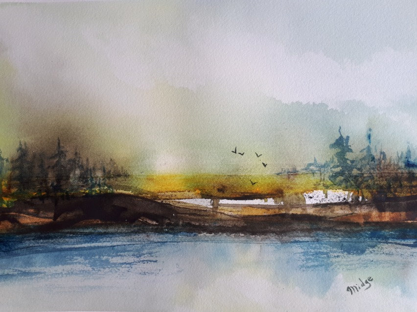WaterColour Painting - Thu Aug 19 12-3PM