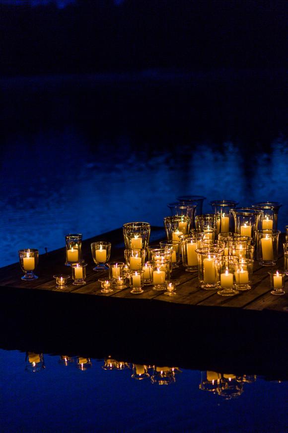 Lifestyle Shoot: Hurricane Lanterns at the Lake
