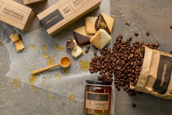 Epicurean Line: Coffee, Honey and Shortbread