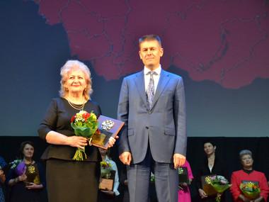 Поплавская с зам. министра культуры Росс