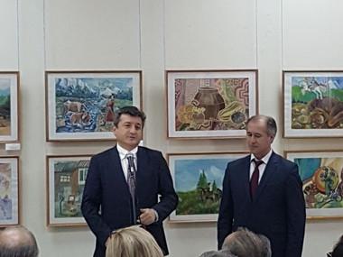 С За.Пред.Правительства КБР Ахоховым Т.Б