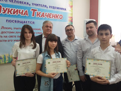На фото Министр культуры КБР Кумахов М.Л