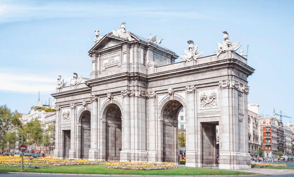 BARCELONA, MADRID Y PARIS