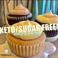 Yes, Virginia, #ketocupcakes are real!
