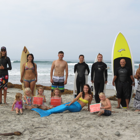 Blue Cove Paddle Out 2015