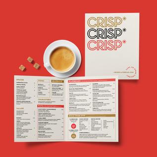 Crisp Flatbread Branding by Chipie Design