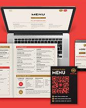 Crisp Website Menu & Website Design