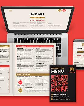 Crisp Website Menu