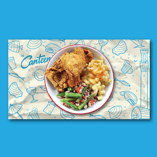 The Canteen Placemat by Chipie Design