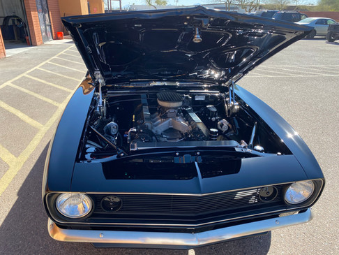 1967 Camaro Engine