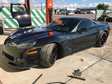 Collision Repair Corvette