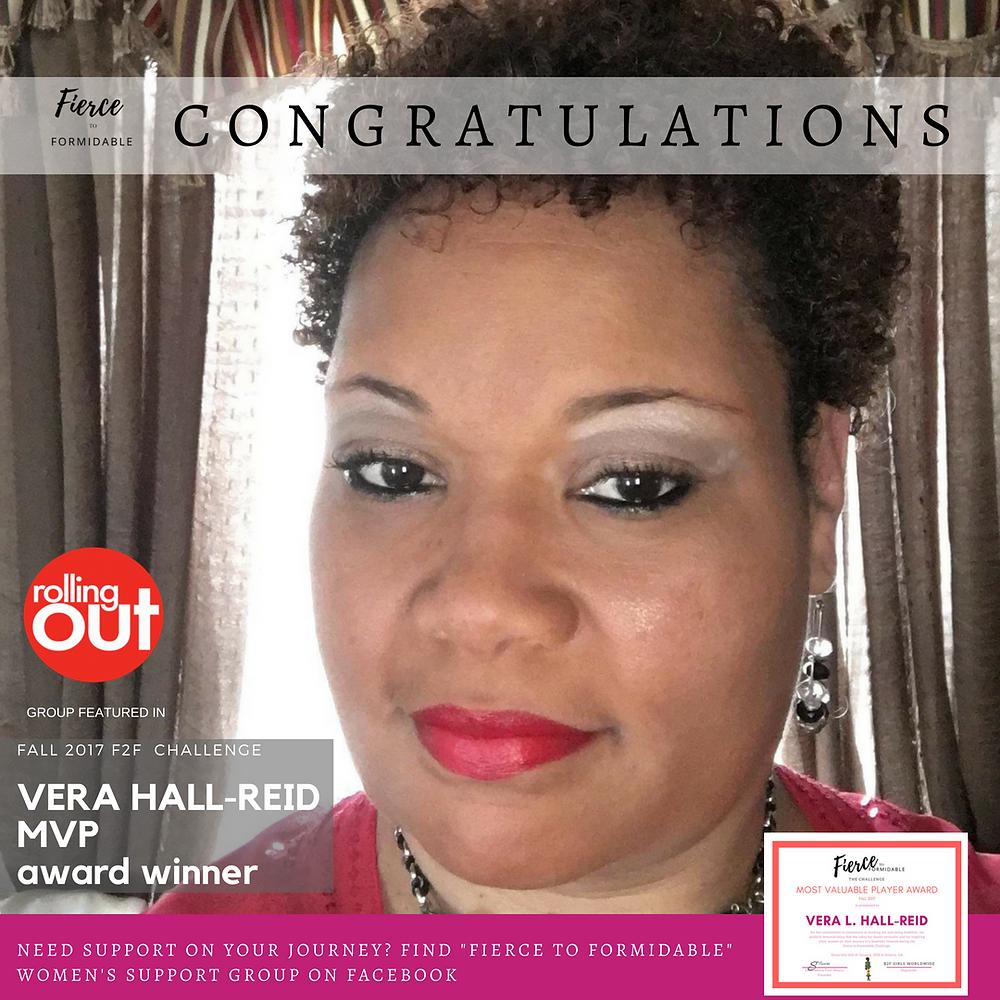 Winner Vera Hall-Reid