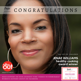 B2F Girls Worldwide Names Jenae Williams Its Healthy Cooking Award Winner
