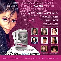 Flyer of Authors of the Alpha Woman Book