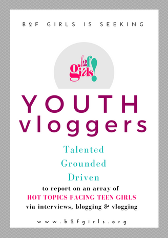 B2F Girls Seeks Youth Vloggers