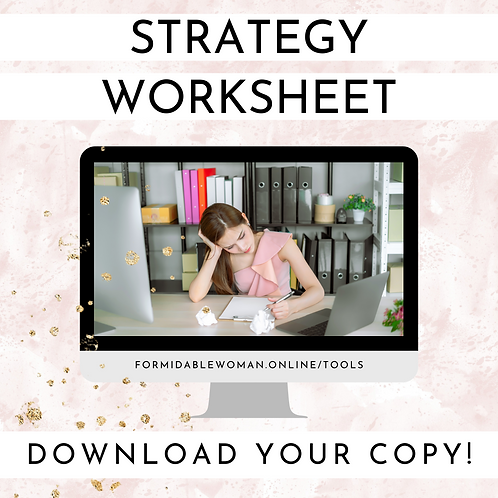 FW Strategy Worksheet