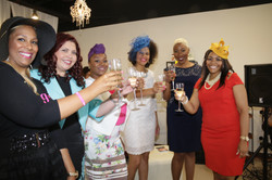 A toast to powerful girls!
