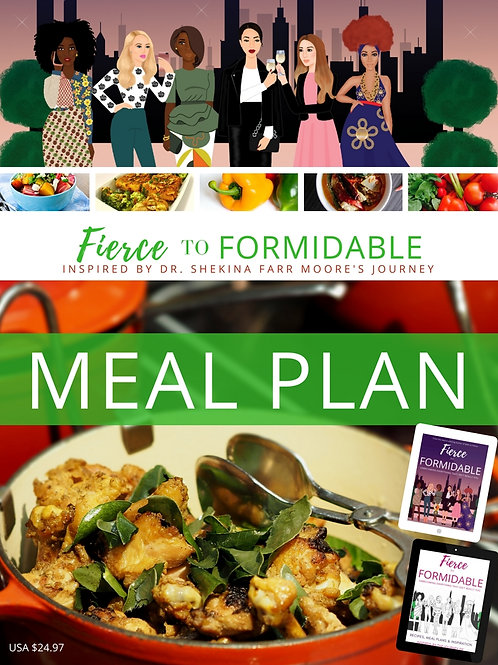 F2F MEAL PLAN + GROCERY LIST