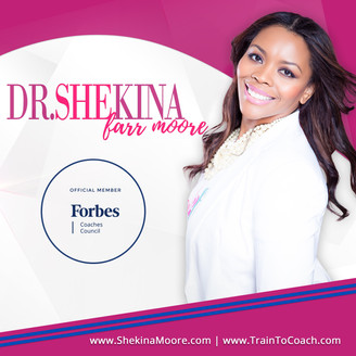 Award-winning Gender Advocate Dr. Shekina Farr Moore Accepts Invitation to the Forbes Coaches Counci