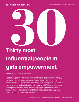 30 Most Influential People in Girls Empowerment