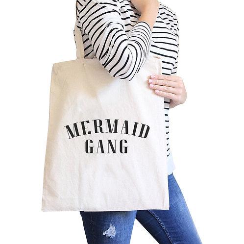 Mermaid Gang Canvas ShoulderBag