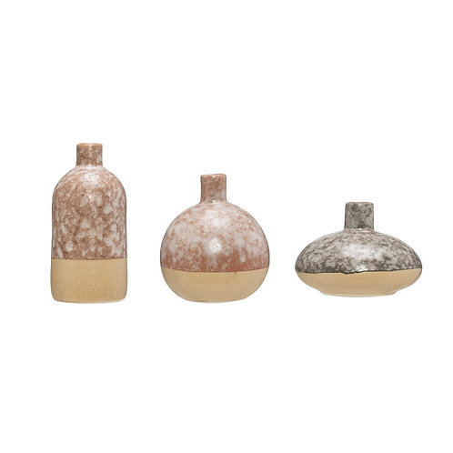 Earth Vases- Set of 3