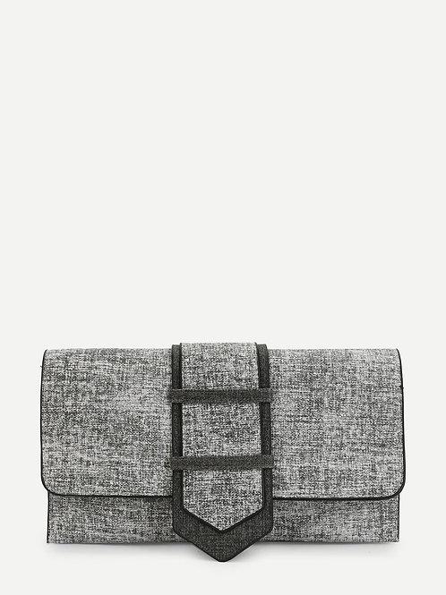 Chic Clutch It Bag (Gray)