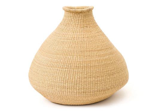 Large Natural Grass Bud Vase