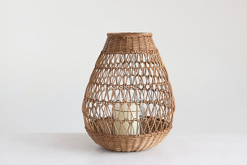Rattan lantern