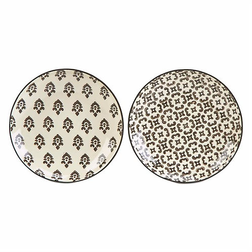 Henna tidbit Plates- Set of 2