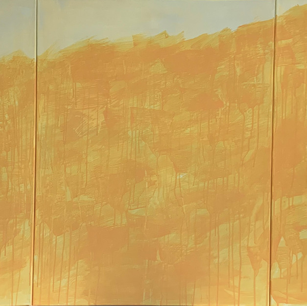 Orangetree, 180x80cm, Gouache on the Canvas, 2020
