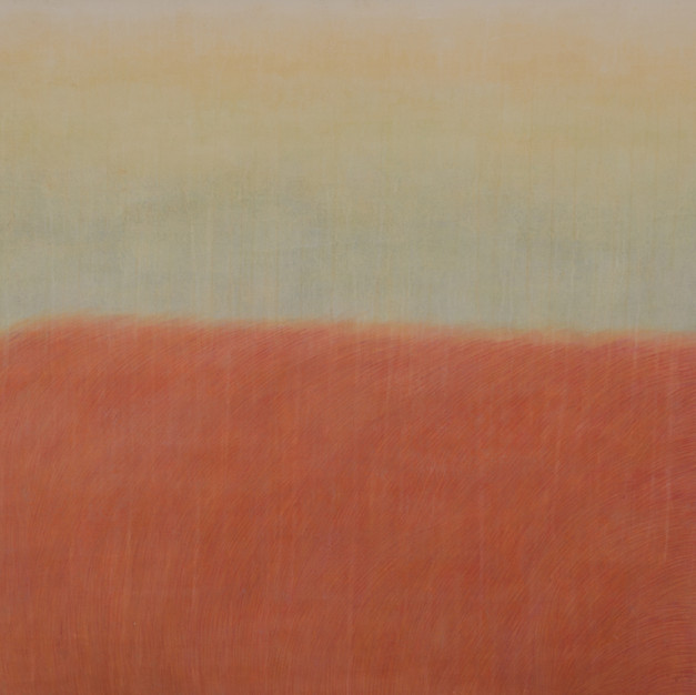 R-Grass, 192 x 130 cm, Oriental Pigment on the oriental paper, 2012
