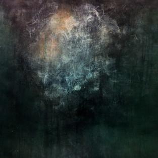 Landscape, 64.5 x 82 cm, Koreanisches Pigment auf Maulbeerbaumpapier, 2013