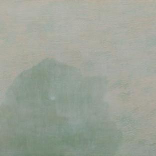 Windy, 98 x 130 cm, Koreanisches Pigment auf Maulbeerbaumpapier, 2013