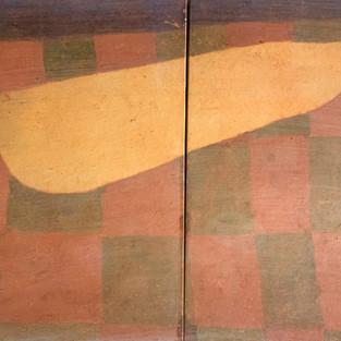 Landscape-Sand, 30x42cm, Koreanisches Pigment auf Maulbeerbaumpapier, 2020