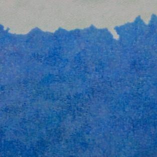 B-forest, 98 x 130 cm, Koreanisches Pigment auf Maulbeerbaumpapier, 2012