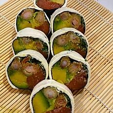 F. Sakebi Cheese Oriental Roll