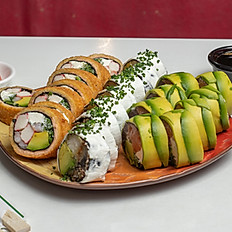 Promo deluxe(3 roll's sin arroz)