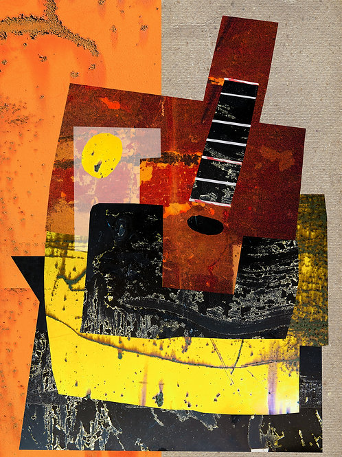 Nature Morte with Guitar