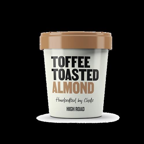 Toffee Toasted Almond Ice Cream